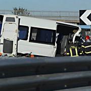 accidentul din italia soferul microbuzului este tatal unui junior de nationala