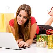 romancele din ce in ce mai interesate de shopping-ul online