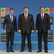 presedintele ucrainean la summitul nato un plan de armistitiu va fi semnat vineri