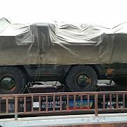 transportoare cu sisteme de rachete anti-aeriene surprinse in gara de vest din ploiesti