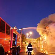 explozie puternica intr-un bloc de locuinte din capitala