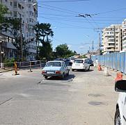 strada cuza voda va fi inchisa circulatiei din cauza lucrarilor la parcarea de langa casa sindicatelor