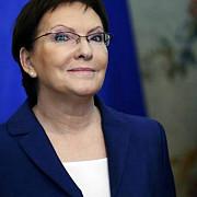 polonia ewa kopacz desemnata prim-ministru
