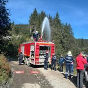 aplicatie de stingere incendiu forestier si salvare din munti