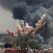 video explozii intr-o uzina de armament din apropiere de donetk