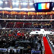angajatii ratb invitati la o excursie pe arena nationala in ziua lansarii candidaturii lui ponta