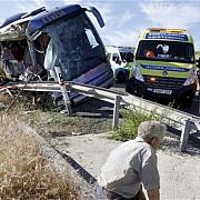 doi romani raniti grav intr-un accident de autocar in ungaria