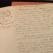contractul de casatorie dintre napoleon si josephine vandut la licitatie cu 437500 de euro