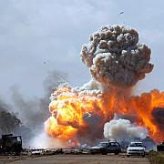 aviatia americana a bombardat sediul jihadistilor peste 20 de victime dintre islamisti