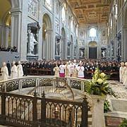 credinciosii catolici au primit vestea invierii