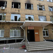 spital din donetk atacat cu obuze in ziua de paste