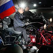 motociclistii rusi din grupul lupii noptii vor sa refaca drumul armatei rosii catre berlin