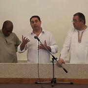 fostul ministru cristian david botezat la o biserica penticostala dupa eliberarea din arest - video