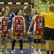 playoff handbal feminin  csm ploiesti hcm baia mare se disputa pe 2 mai de la ora 1730