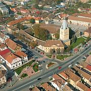 campanie de angajare in strada intr-un oras din romania