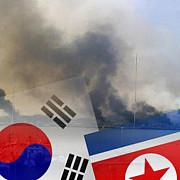 peninsula coreea nordul a atacat cu rachete o baza militara sudul a ripostat cu obuze