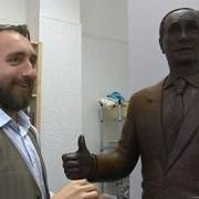 putin va avea o statuie de ciocolata la sankt petersburg