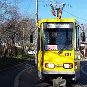 tramvaiul 101 revine pe traseu