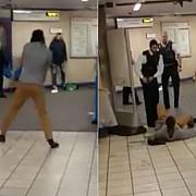 atac la metroul londonez asta e pentru siria a strigat si a lovit