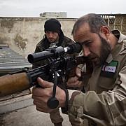 turkmenii au intrat in lupta contra si cu sprijinul turciei