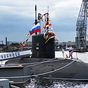 un submarin rusesc de ultima generatie a fost adus in apele siriei