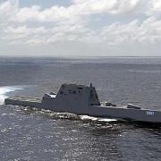 cel mai mare distrugator american are semnatura radar a unui vas de pescuit