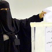 femeile voteaza pentru prima data in arabia saudita