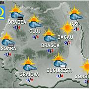 iarna nu se grabeste prognoza meteo pentru luni si marti