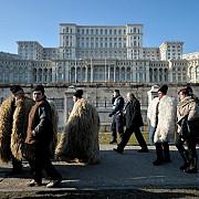 ciobanii protesteaza la parlament incidente cu jandarmii