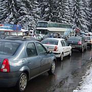 in ritmul melcului pe dn1 revelionul readuce turistii la munte