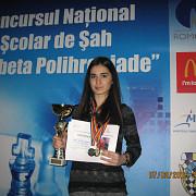 emilia florentina coman campioana nationala scolara la sah