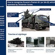 londra a publicat fotografii cu sisteme performante de rachete rusesti aflate in ucraina