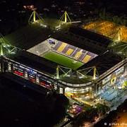 cel mai mare stadion din germania a fost inchis dupa ce au depistat o bomba in tribune
