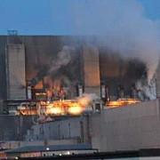 incendiu puternic la o centrala nucleara din sudul ucrainei