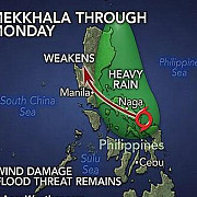 peste 2000 de familii evacuate in filipine din cauza unei furtuni tropicale
