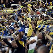fanii petrolului s-au intors la stadion lupii au dominat arena nationala