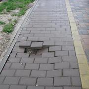 se repara trotuarele din ploiesti