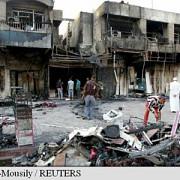 irak explozia unei masini-capcana face 20 de morti intr-un cartier siit din bagdad