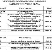 atentie carnetul de vaccinari al copilului a fost modificat
