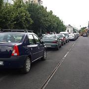 parcare pe mijlocul strazii normele de circulatie incalcate la ploiesti