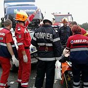 accident teribil in arad sase morti si patru raniti