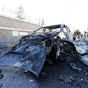 patru masini capcana au explodat in capitala yemenului doua persoane au murit si 60 au fost ranite