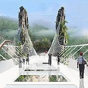 cum arata cel mai lung si cel mai inalt pod de sticla din lume