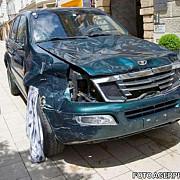 trei morti si zeci de raniti dupa ce un sofer a intrat intentionat cu masina pietoni