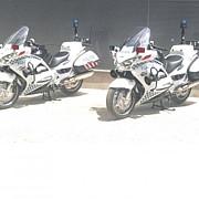 cu ce model de motociclete a fost dotata politia autostrazilor