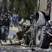 atac cu masina capcana asupra unui convoi nato din afganistan
