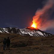 etna a erupt din nou dupa patru luni