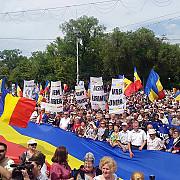 mii de persoane la marsul unirii de la chisinau