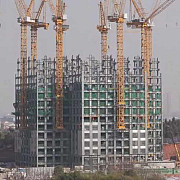 cum muncesc chinezii zgarie-nori de 57 de etaje construit in 19 zile video