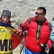 la 12 ani alpinista geta popescu a intrat in cartea recordurilor